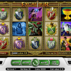 Excalibur – A Medieval Themed Slot Experience